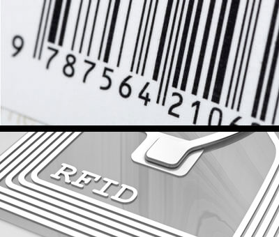 Código de barras vs. RFID